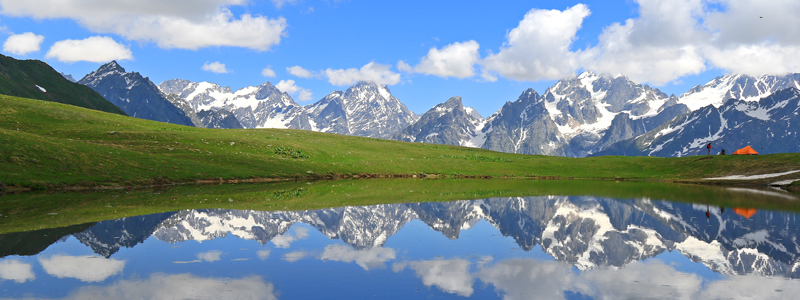 Koruldisøerne i Svaneti i Georgien - Silkevejsrejser