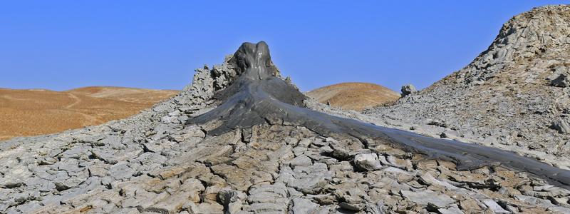 Muddervulkaner i Aserbajdsjan - Silkevejsrejser
