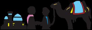 Silkevejsrejsers logo - Tvernoe Travel Group