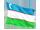 usbekistans flag