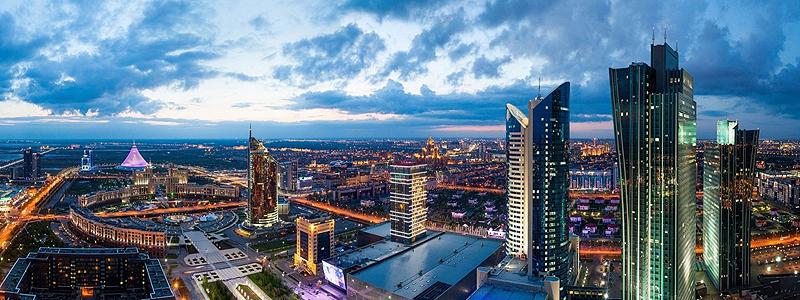 Astana i Kasakhstan - Silkevejsrejser