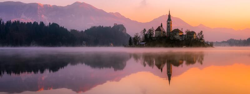 Bled i Slovenien - Balkanrejser