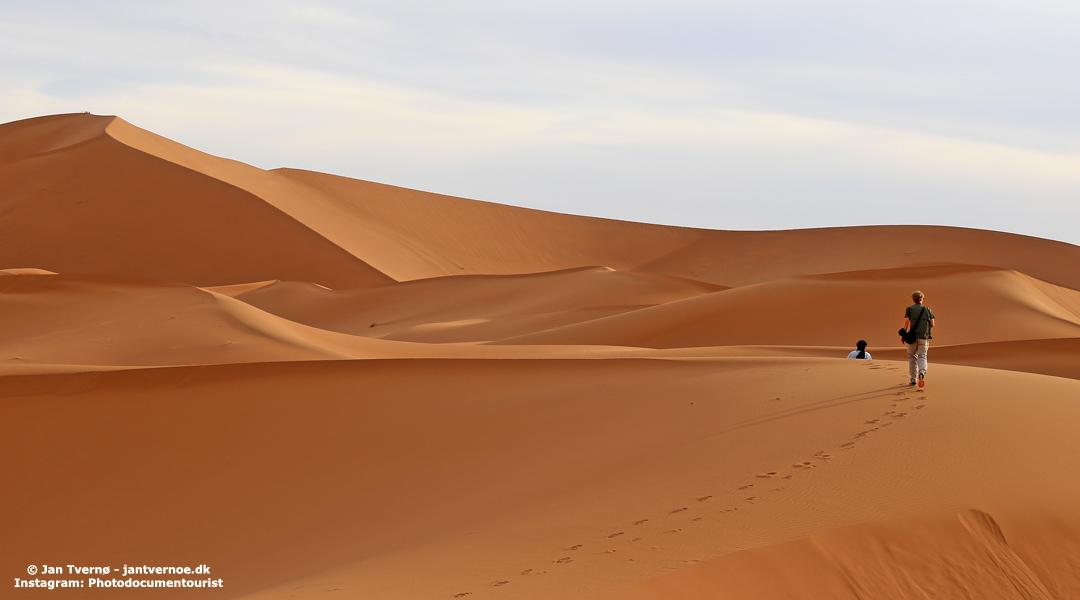 Erg Chigaga i Sahara i Marokko - All Exclusive Travel