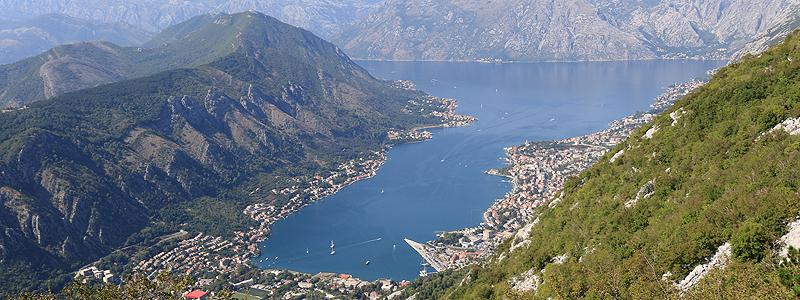 Kotor Bay i Montenegro - Balkanrejser