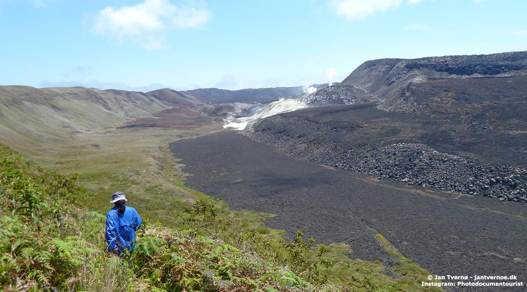 Minas de azufre på Isla Isabela, Galapagos, Ecuador - Tvernø Travel Group