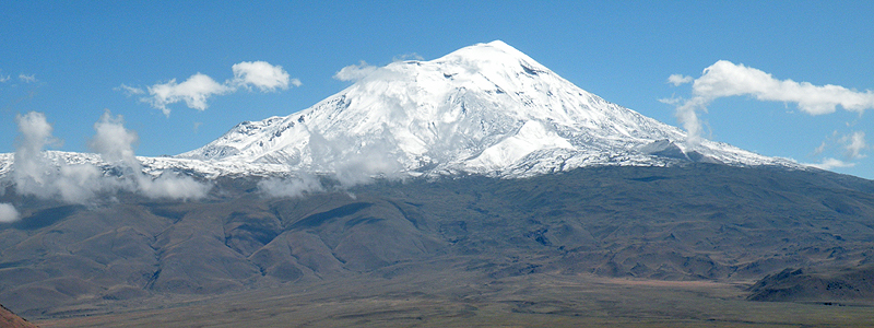 Mount Ararat i Tyrkiet - Silkevejsrejser