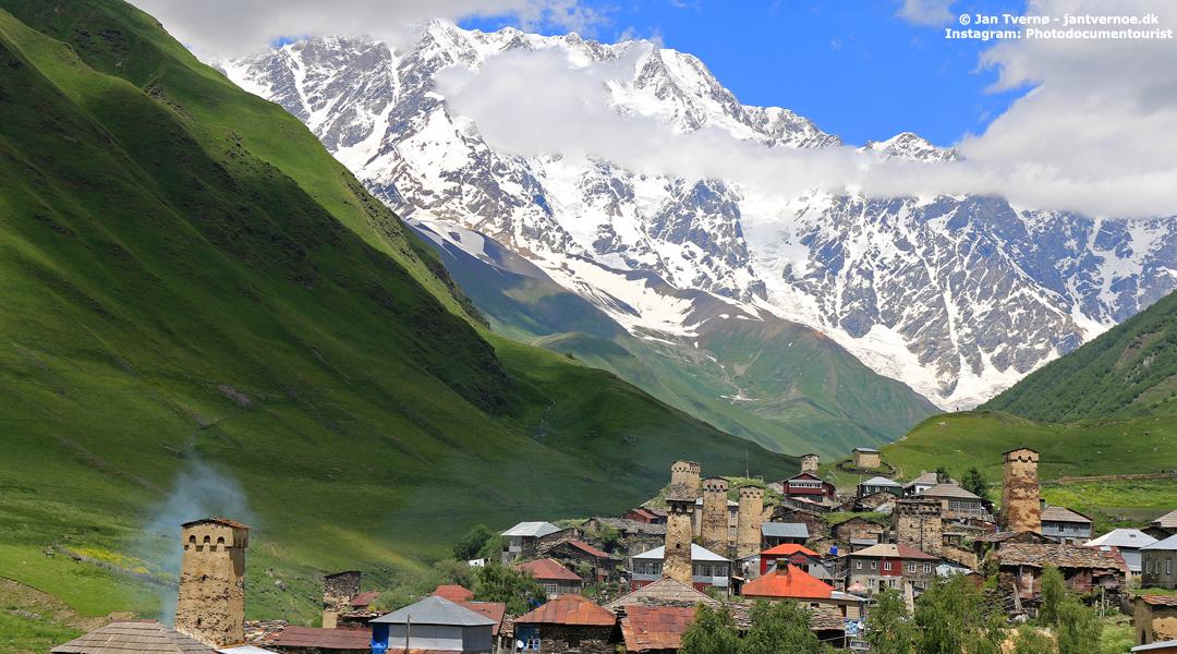 Ushguli i Svaneti i Georgien - All Exclusive Travel